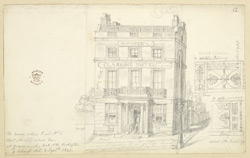 Clarence Hotel, Gravesend, 1842